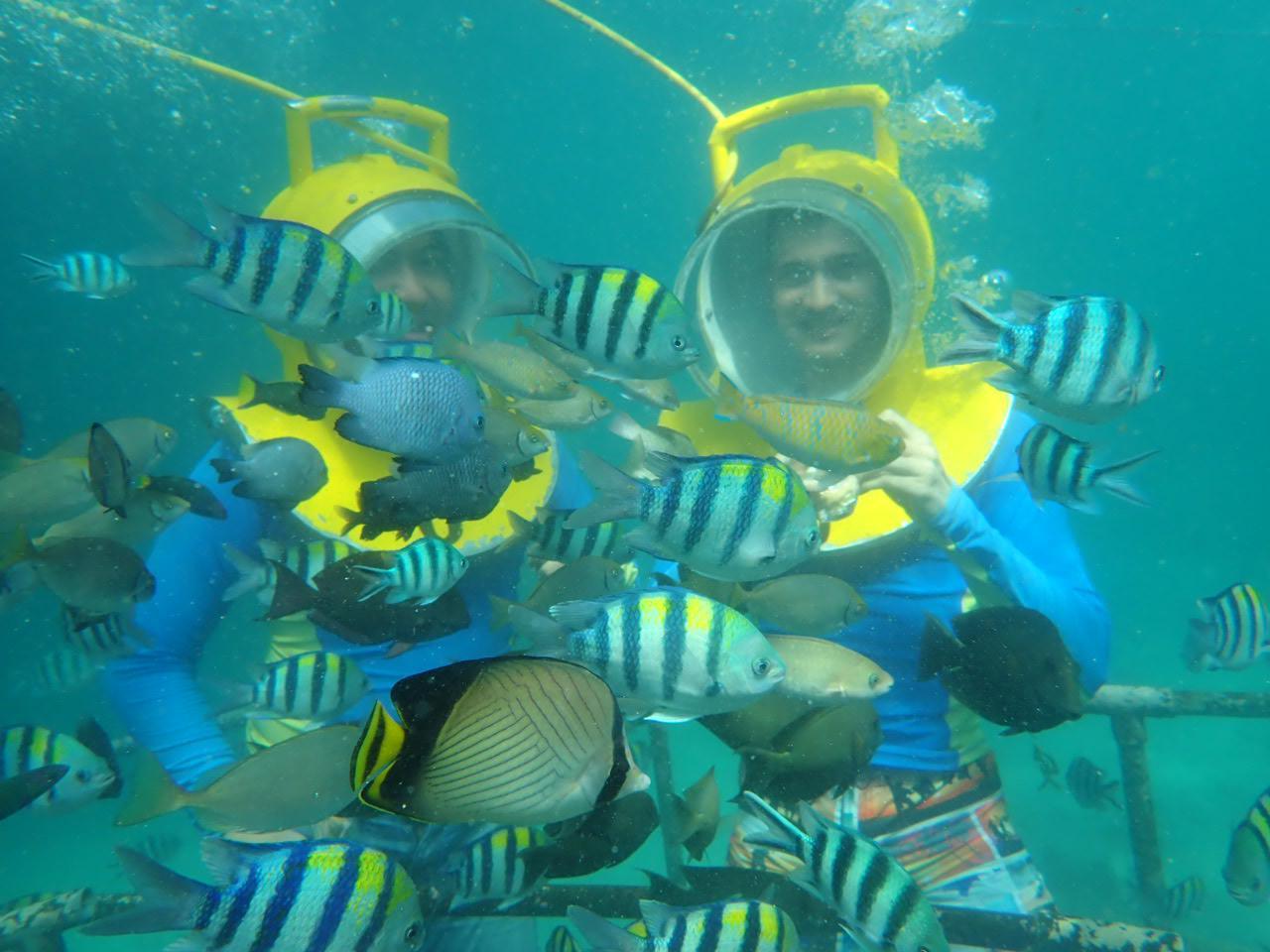 sea walker bali water sport